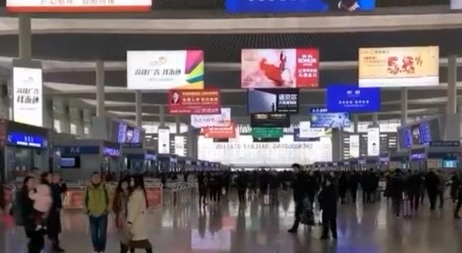 【国家有力量,民族有希望】成都东高铁站掠影
